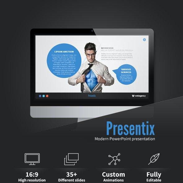 Presentix PowerPoint presentation