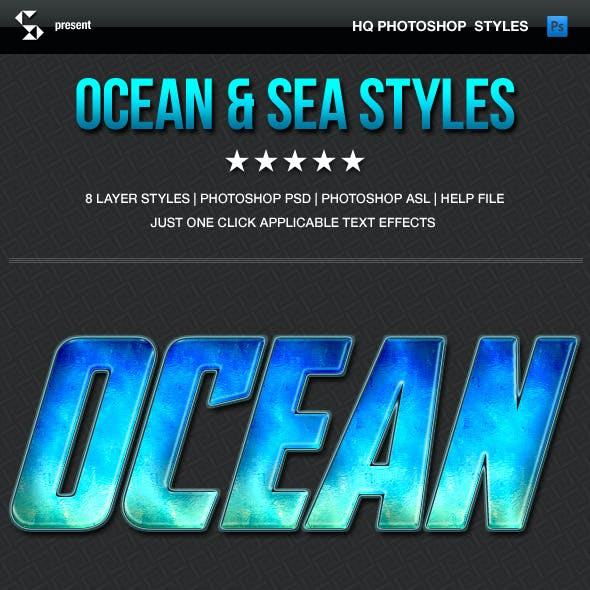 Hot Summer Styles - Ocean and Sea