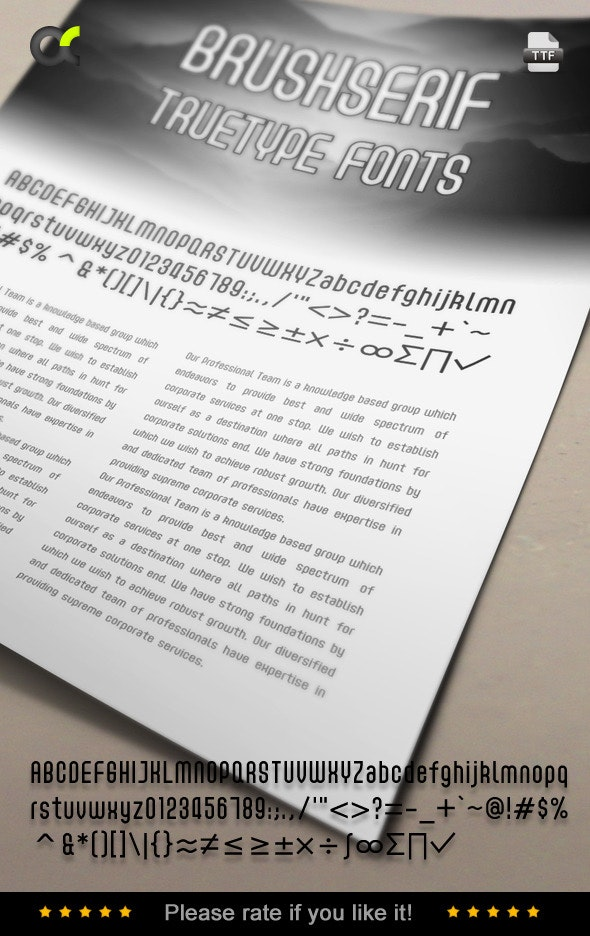 Acmenter TrueType Font - Sans-Serif Fonts