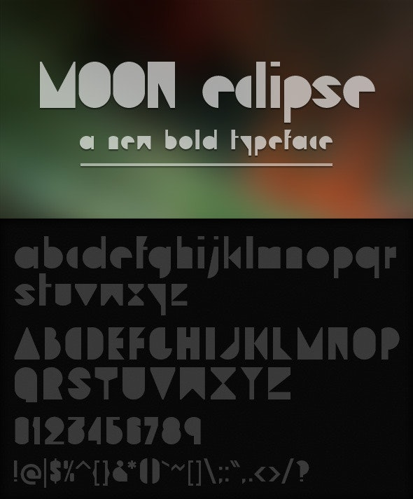 Moon Eclipse - Miscellaneous Decorative