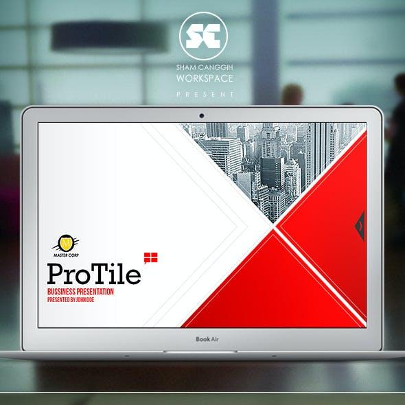 ProTile : Modern Corporate Presentation