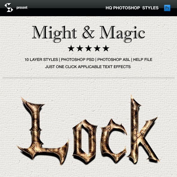 Fantasy styles - Might and Magic