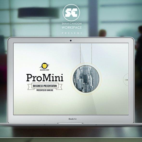 ProMini : minimalism powerpoint template