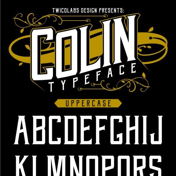 Colin Typeface