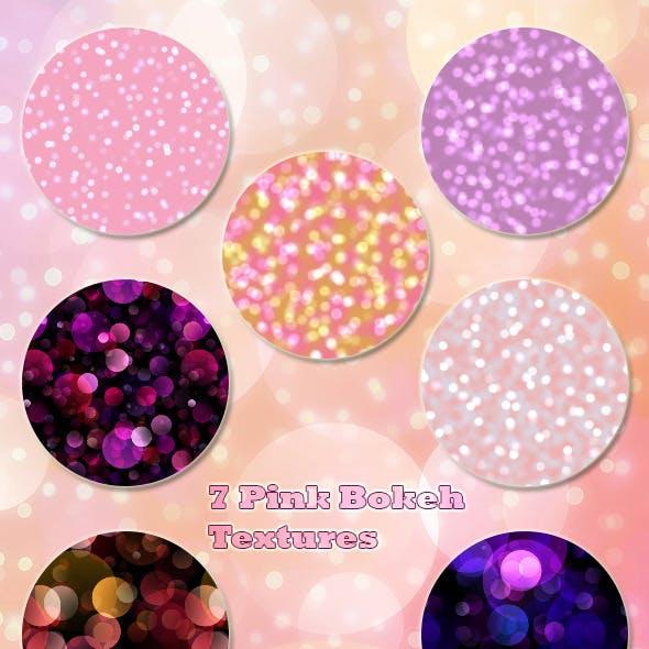 7 Pink Bokeh Textures