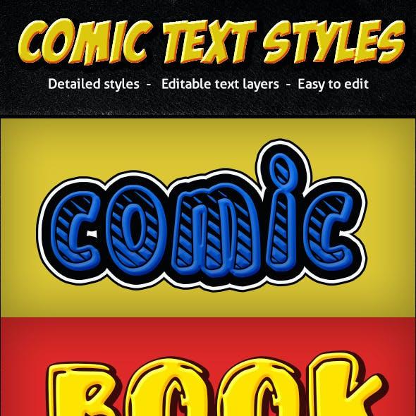 Comic Text Styles