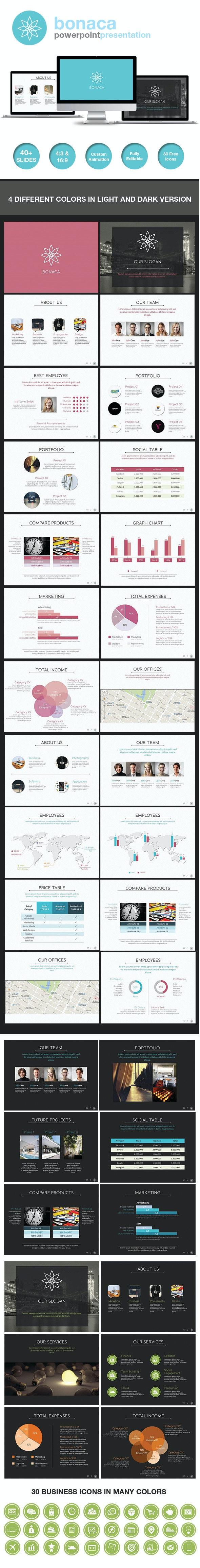 Bonaca Powerpoint Presentation - Business PowerPoint Templates