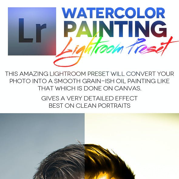 Watercolor Painting Lightroom Preset