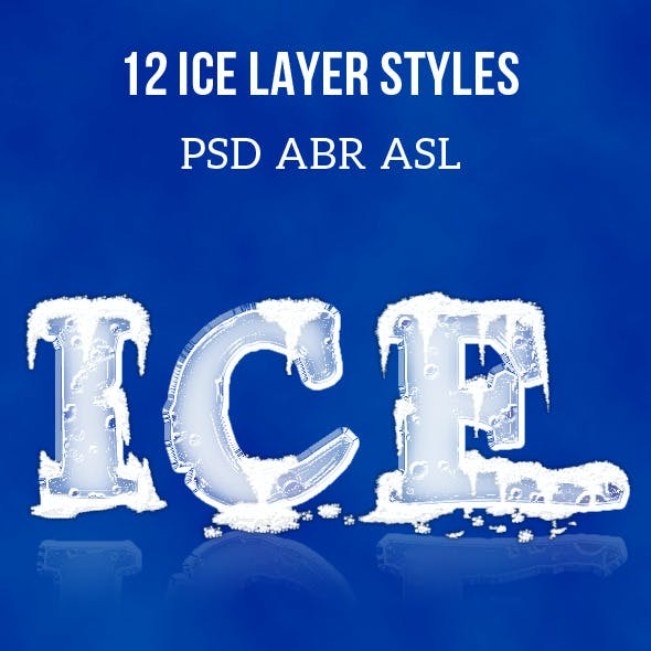 3D Ice Cool, Layer Styles
