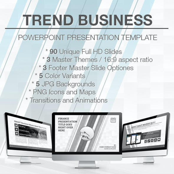 Trend Business PowerPoint Presentation Template
