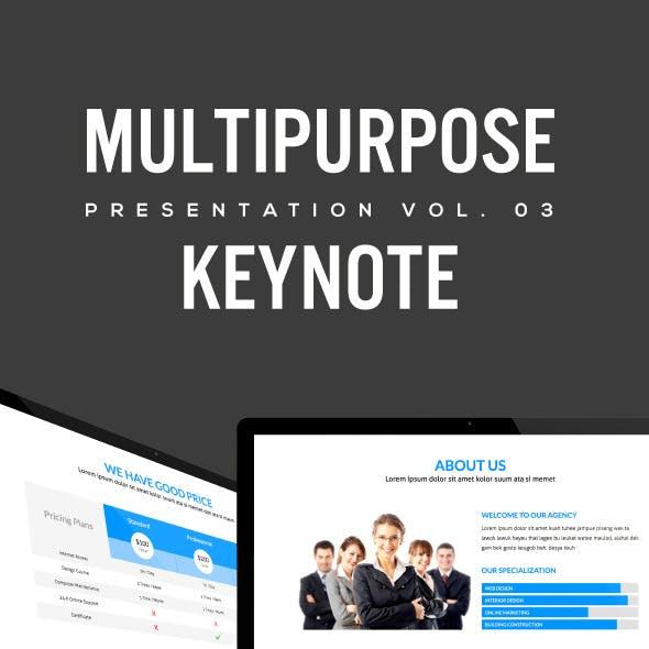 Multipurpose Keynote Presentation (Vol. 03)