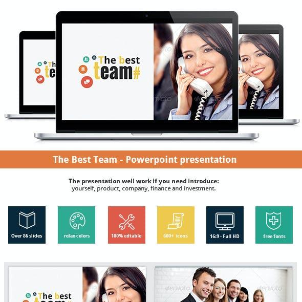The Team - Powerpoint Presentation