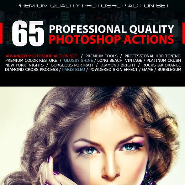 65 Professional Quality Actions