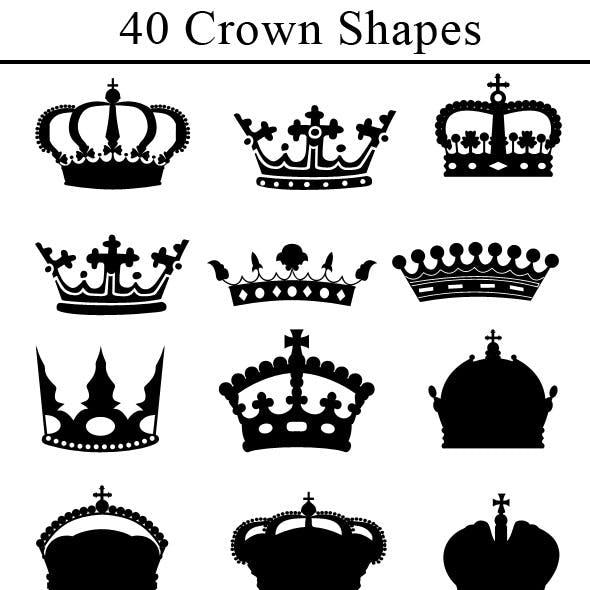 40 Custom Crown Shapes