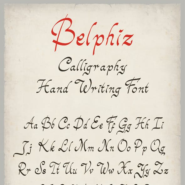 Belphiz Font