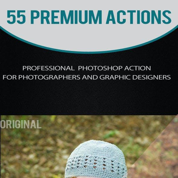 55 Premium Actions