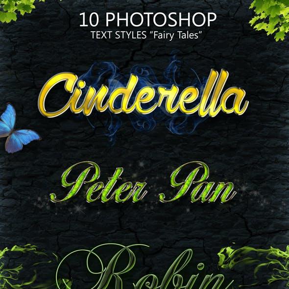 Fairy Tales 10 Photoshop Styles