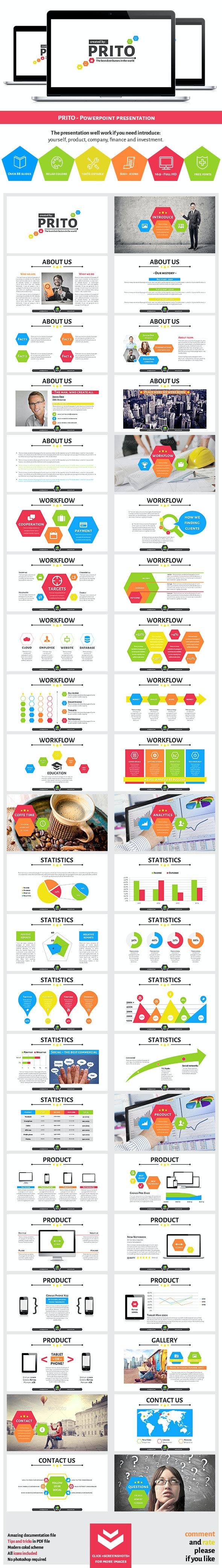 Prito Powerpoint Presentation - Business PowerPoint Templates
