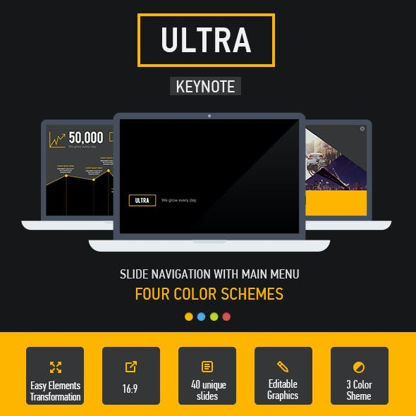Ultra Keynote Template