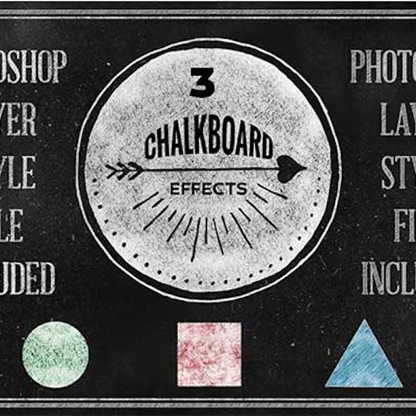 Chalkboard Photoshop Layerstyle