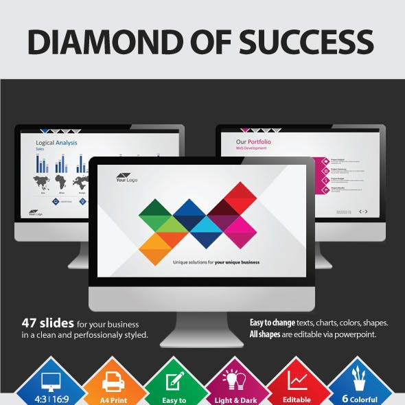 The Diamond of Success Powerpoint Presentation