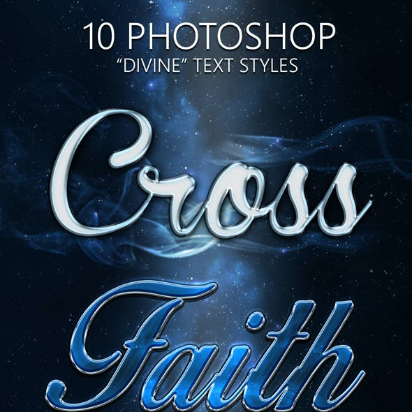 10 Divine Photoshop Text Styles