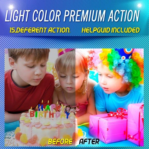 LIGHT COLOR PREMIUM ACTION