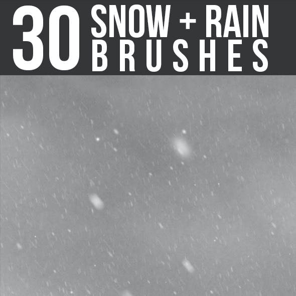 Snow & Rain Brushes
