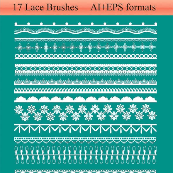 17 Lace Brushes