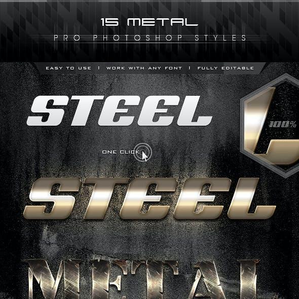 15 Metal Pro Styles