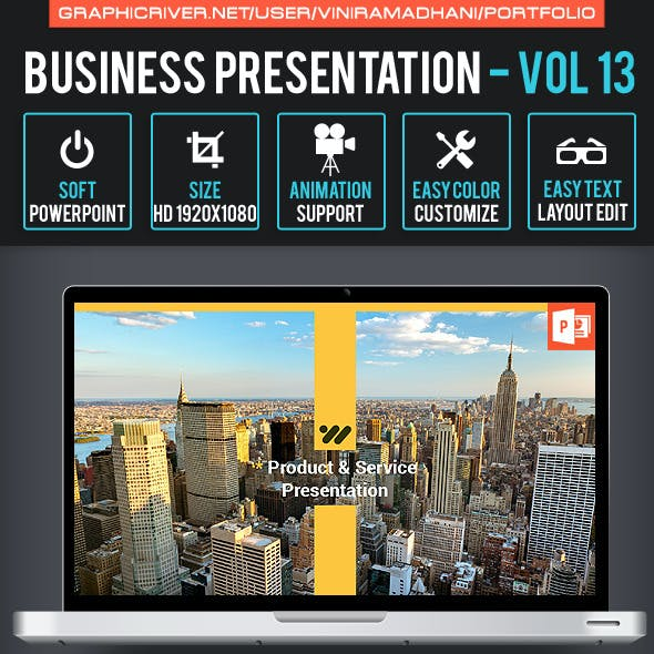 Business Presentation Volume 13