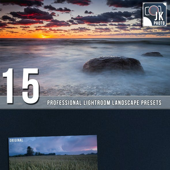 15 PRO  Landscape and Nature Lightroom presets
