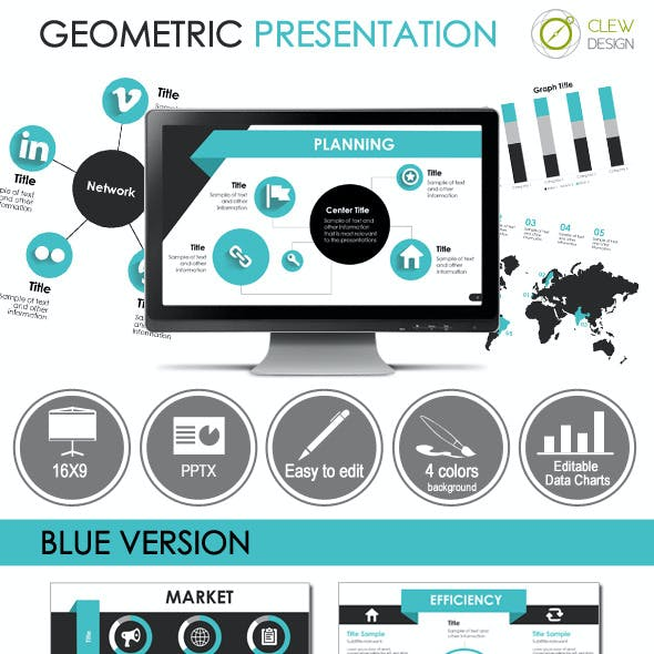 Geometric Presentation Template