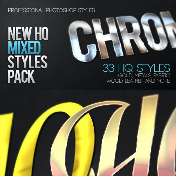 New HQ Mixed Styles Pack