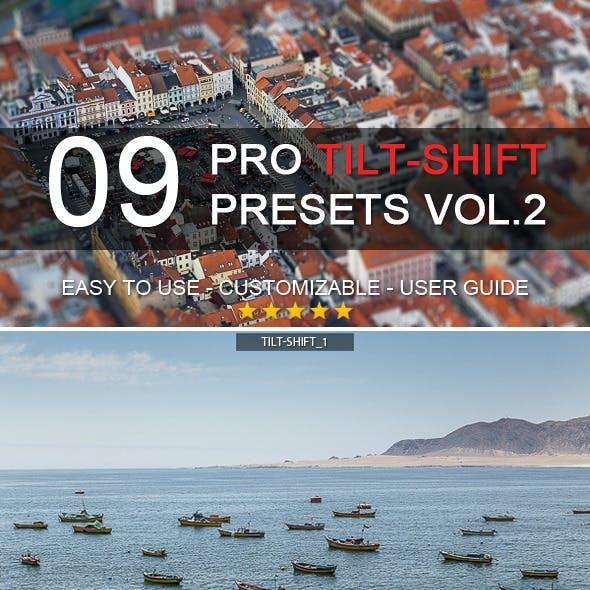 9 Pro Tilt-Shift Presets vol.2