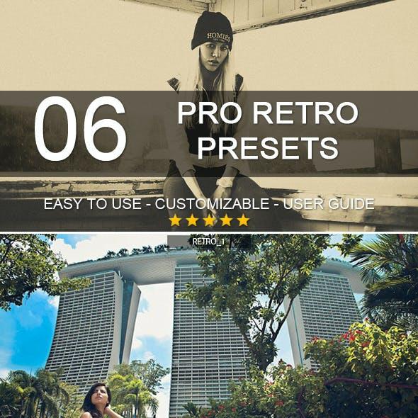 6 Pro Retro Presets
