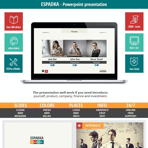 Espadka - Introduce Your Web