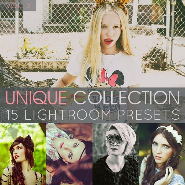 15 Unique Lightroom Presets Vol.3