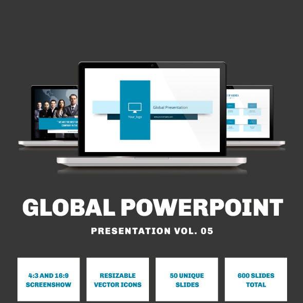 Multipurpose PowerPoint Presentation (Vol. 05)