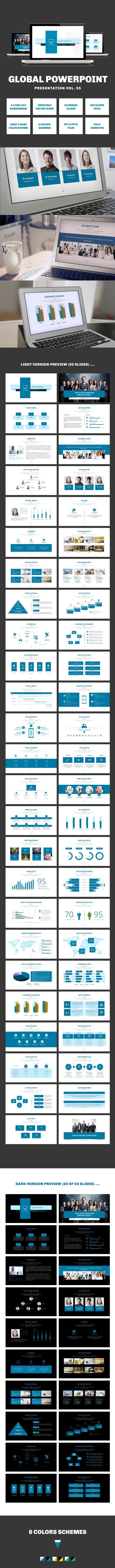 Multipurpose PowerPoint Presentation (Vol. 05) - PowerPoint Templates Presentation Templates