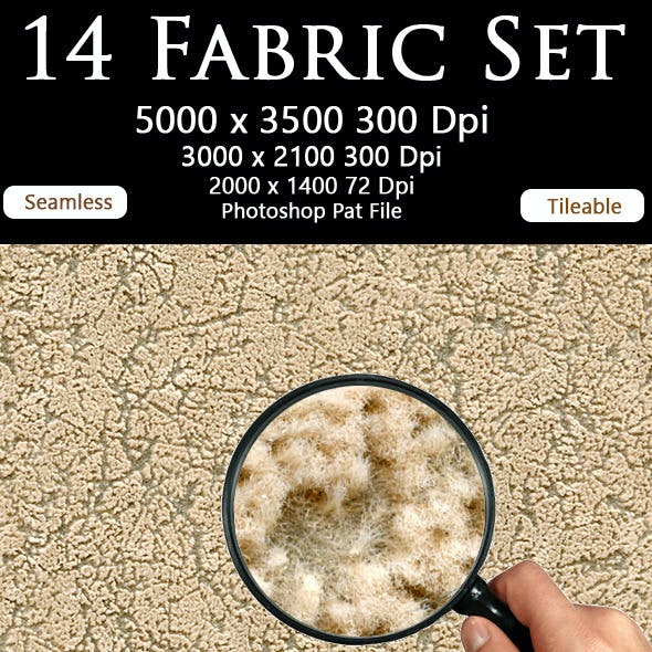 14 Fabric Set