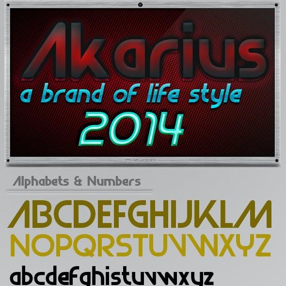 Akarius Font