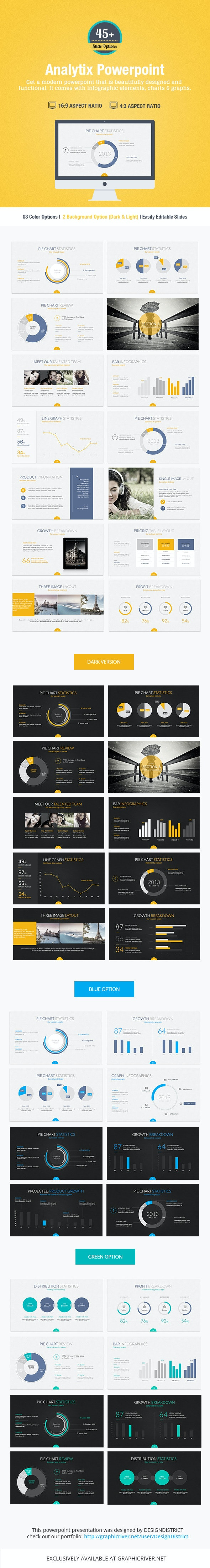 Analytix Powerpoint Presentation - Business PowerPoint Templates