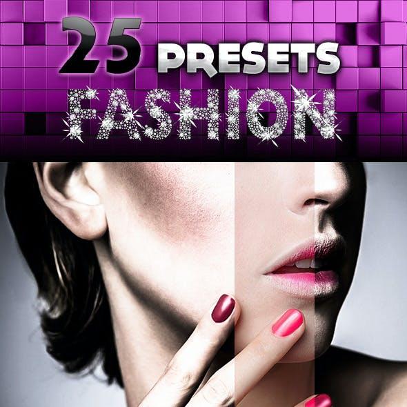 25 Fashion Presets