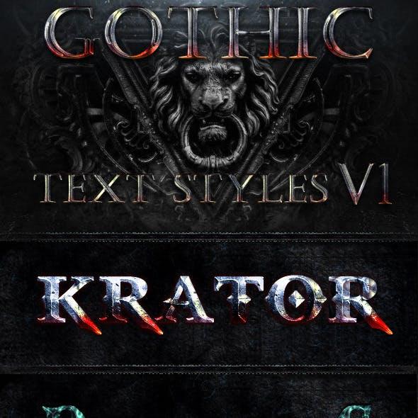 Gothic Styles v1