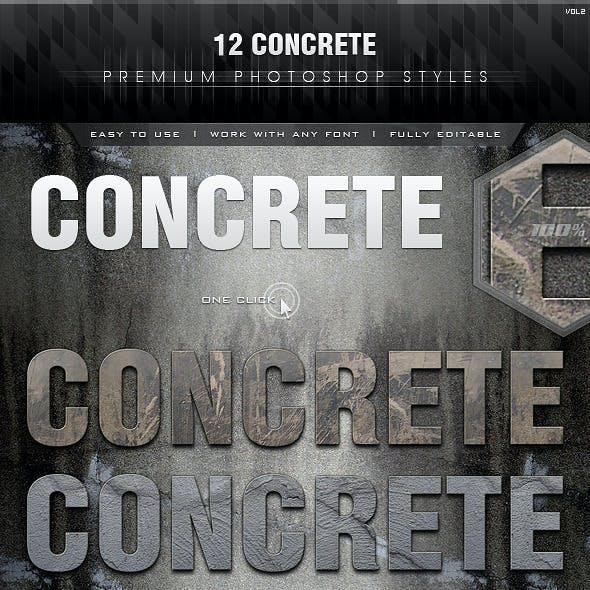 12 Concrete Styles Vol.2