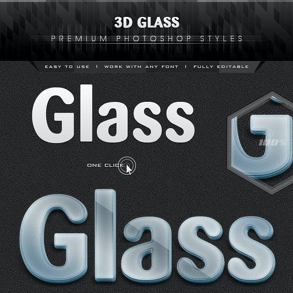 3D Premium Glass Styles
