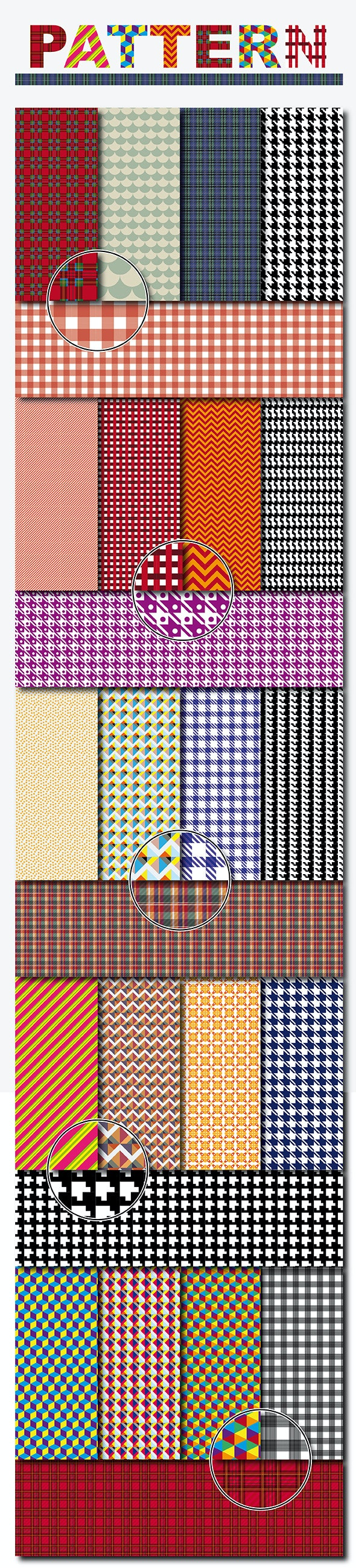 Textile and Decorative Pattern Background - Miscellaneous Textures / Fills / Patterns
