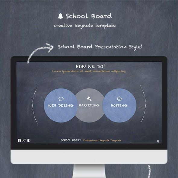 School Board - Keynote Template