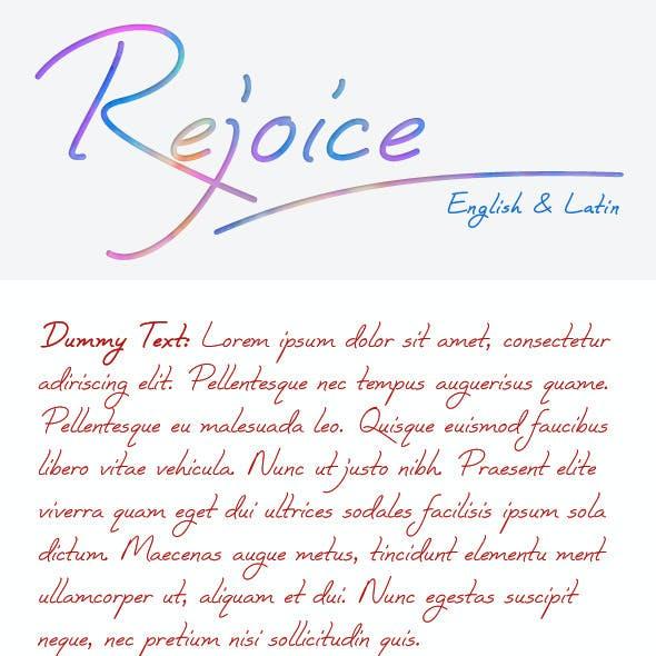 Rejoice Font